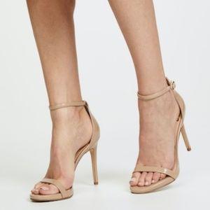 Sam Edelman Ariella High Heels Sandals Nude Patent